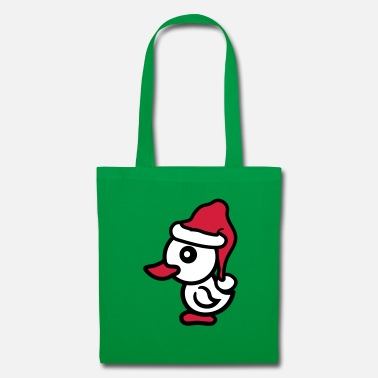 Chick Christmas Nicholas Santa Claus Winter Greetings - Tote Bag