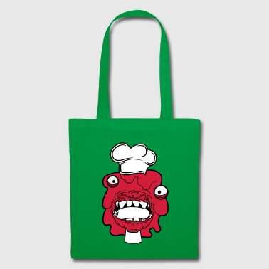 sausage cook eat chef cook aprons hunger licking - Tote Bag