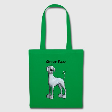 Heureux Dogue Allemand - Tote Bag