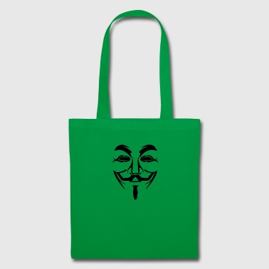 masque anonyme - Tote Bag