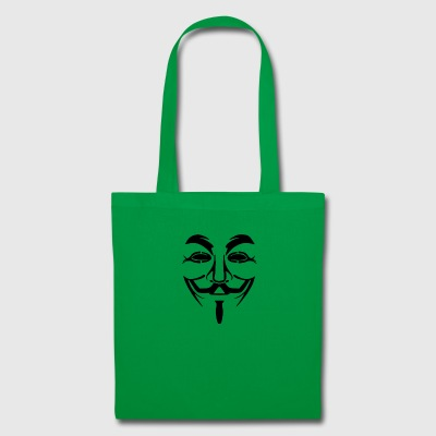 anonymous mask - Tote Bag