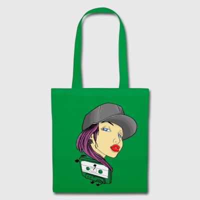 Radio Girl - Tote Bag