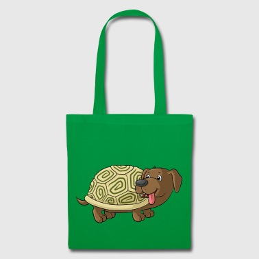 Cute cartoon Dachshund Toad - Tote Bag
