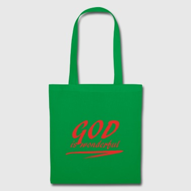 God_is_wonderful - Tote Bag
