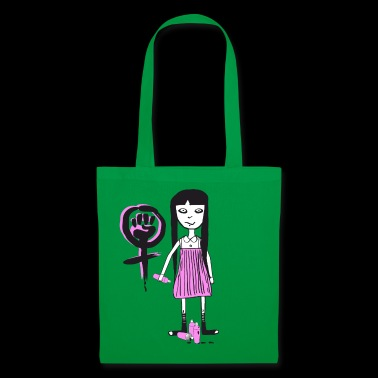 Molly - Girl Power, graffiti feminista - Bolsa de tela
