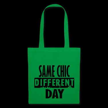 same chick different day - Tote Bag