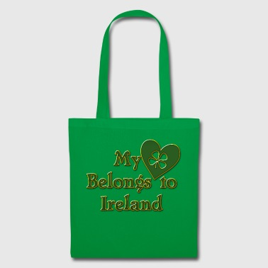 Irish My Heart Belongs To Ireland - Tote Bag