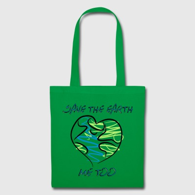 save the earth - Stoffbeutel