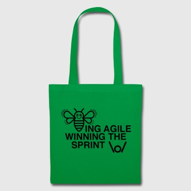 BEING AGILE WINNING THE SPRINT - Tote Bag