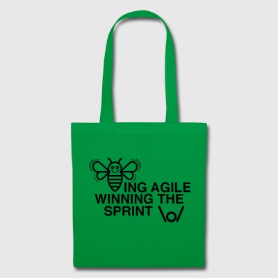 BEING AGILE WINNING THE SPRINT - Stoffbeutel