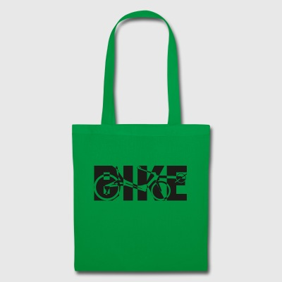 BIKE reclining x black - Tote Bag