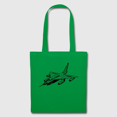 fighter jet - Tote Bag