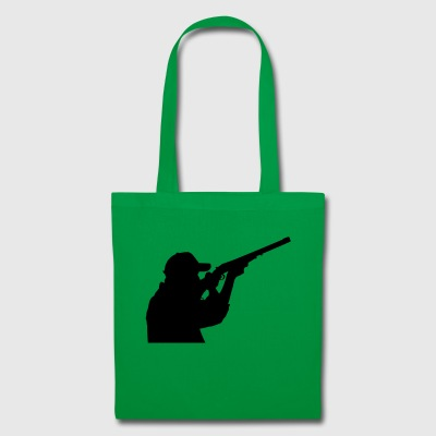 Hunter with rifle - Tote Bag