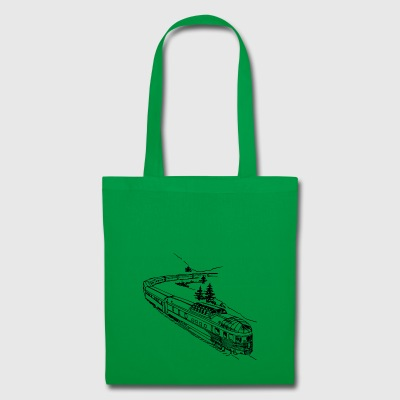 train - Tote Bag