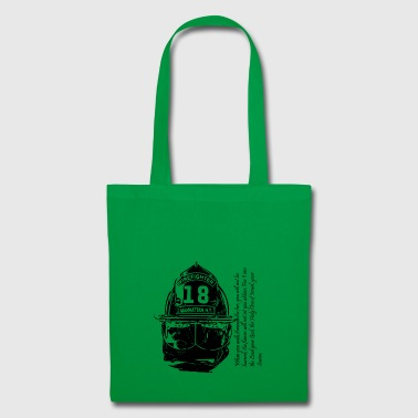 Firefighter usa - Tote Bag