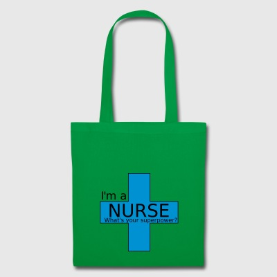 infirmière Superpower - Tote Bag