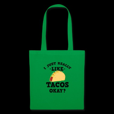 Je viens vraiment comme Tacos Okay? - Tote Bag
