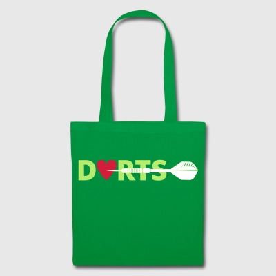 DARTS right in the heart - Tote Bag