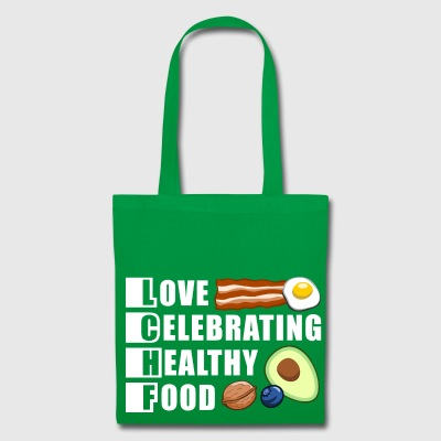 LCHF - low carb high fat / fit food / health - Tote Bag