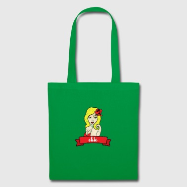 Pin-Up Girl / Rockabilly / 50: Chic - Tote Bag