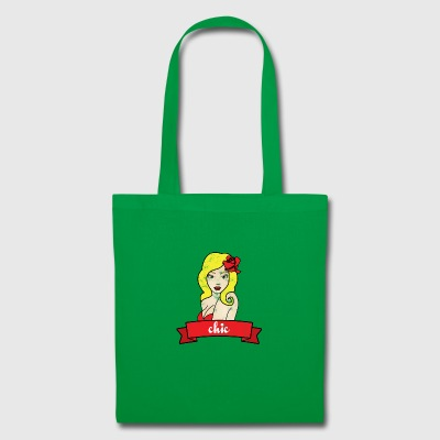 Pin-Up Girl / Rockabilly / 50s: Chic - Tote Bag