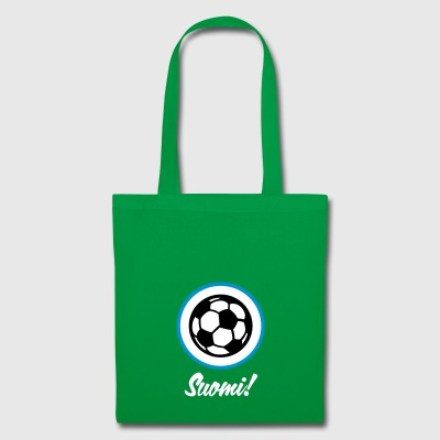Finland Football Emblem - Tote Bag