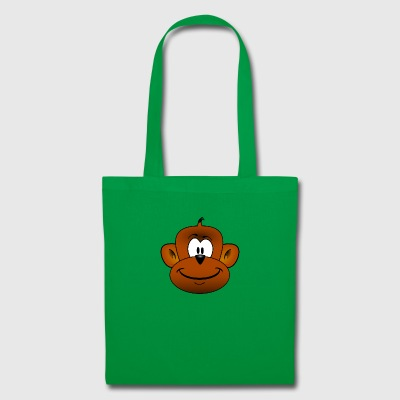 Cute Monkey Chimpanzee Monkey - Tote Bag