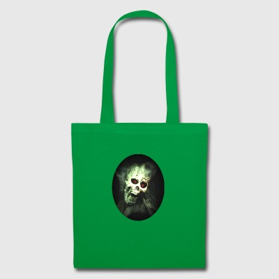 Isle of green Skull - Tote Bag