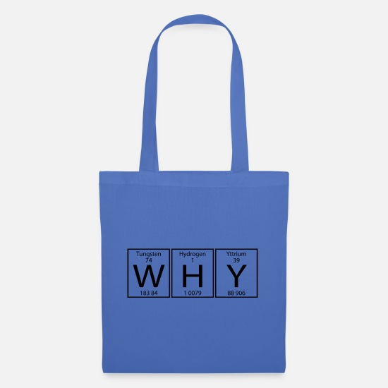 Why Bags & Backpacks - WHY - Tote Bag light blue