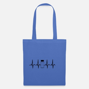 Anabolic Steroids Heartbeat Steroids Anabolic Steroids White - Tote Bag