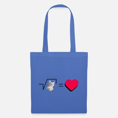 Pull The Root Biscuits Cats Mathematical Hearts Love Love - Tote Bag