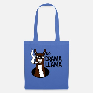 Amsterdam no drama llama joint smoking cool sunglasses han - Tote Bag