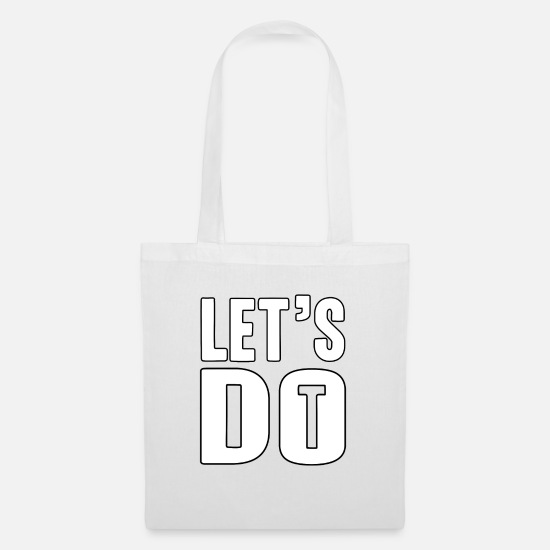 Idea Bags & Backpacks - brilliant - Tote Bag white
