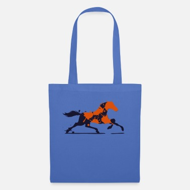 Inspiration Art Horse Orange kunstnerisk inspiration - Mulepose