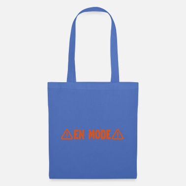 Prohibitory Sign danger sign in mode - Tote Bag