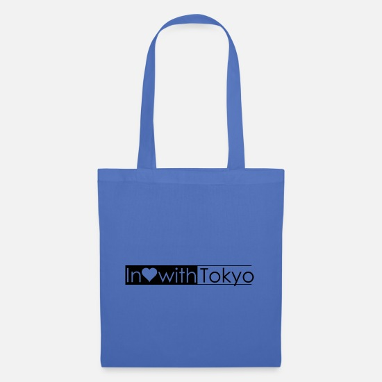 Hometown Bags & Backpacks - Tokyo - Tote Bag light blue