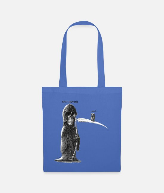 Miscellaneous Bags & Backpacks - shit happens - Tote Bag light blue