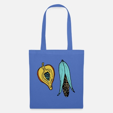 Maize Pumpkin and Maize - Tote Bag