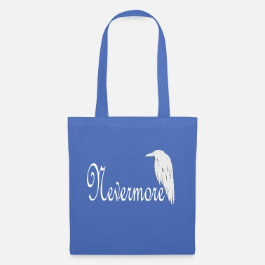 Emo QUOTH THE RAVEN NEVERMORE POE TUMBLR TSHIRT - Stoffbeutel