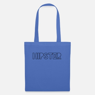 Stylish hipster motif for tshirts - Tote Bag