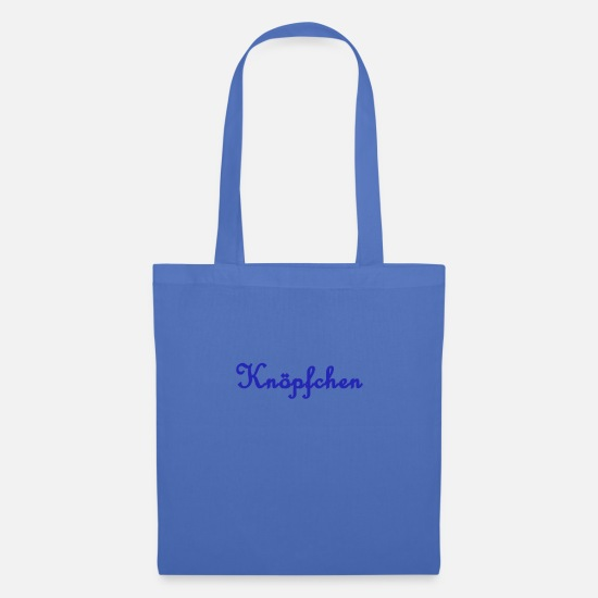 Coming Of Age Bags & Backpacks - nickname button - Tote Bag light blue
