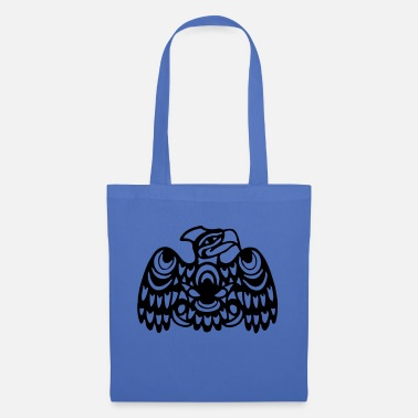 Navajo EAGLE WEST COAST SALISH (tribal collection) - Tote Bag