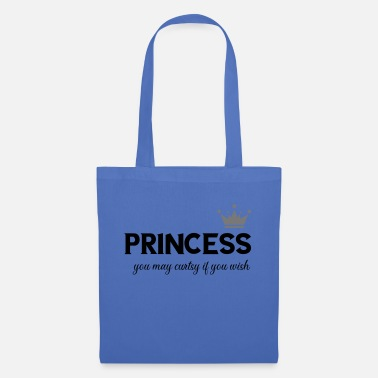 princess - you may curtsy if you wish - Tote Bag