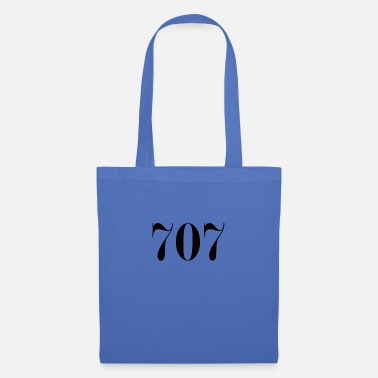 Lucky Number Number 707 lucky number - Tote Bag