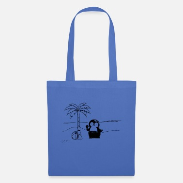 Penguin on vacation - Tote Bag