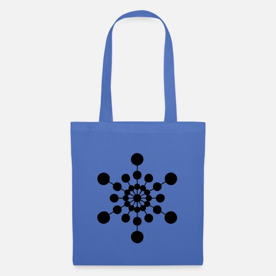 Gift Idea Bags & Backpacks - Snowflake gift idea ice crystal - Tote Bag light blue