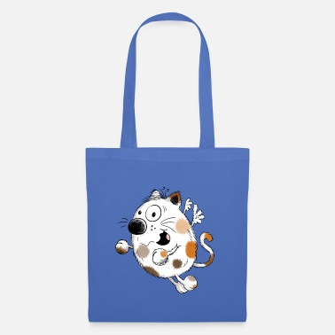 Kitty Cat Cute spotted cat cartoon - Gift - Cats - Tote Bag