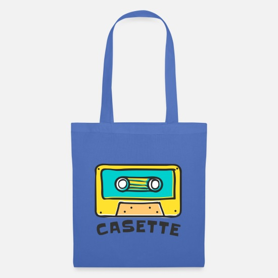 Audio Bags & Backpacks - CASETTE TAPE - Tote Bag light blue