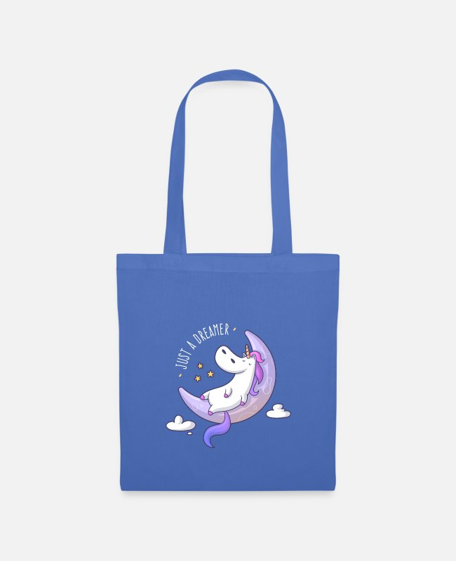 Dream Bags & Backpacks - Just a Dreamer - Dreamy Unicorn - Tote Bag light blue