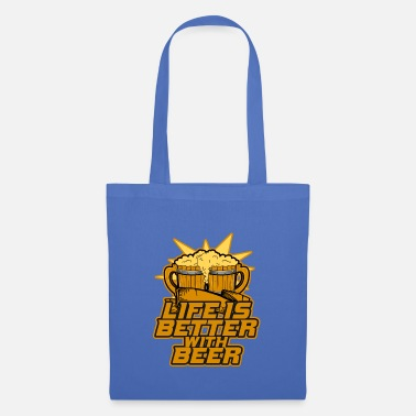 Young life is better with beer - Tote Bag